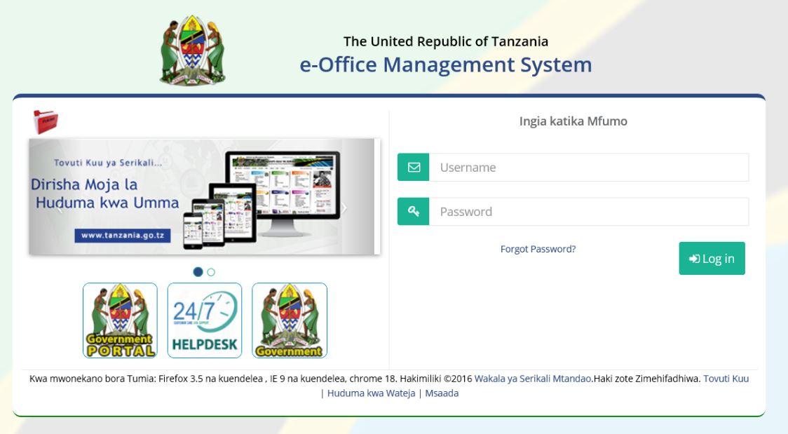 http://eoffice.gov.go.tz