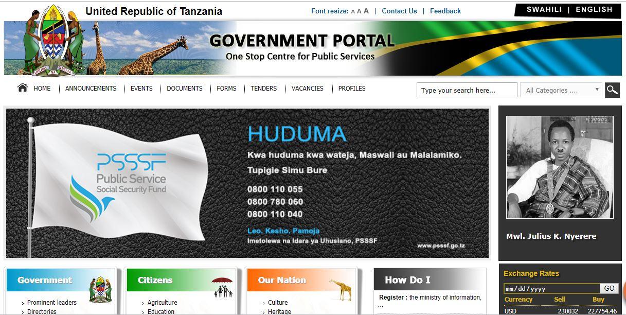 http://tanzania.go.tz