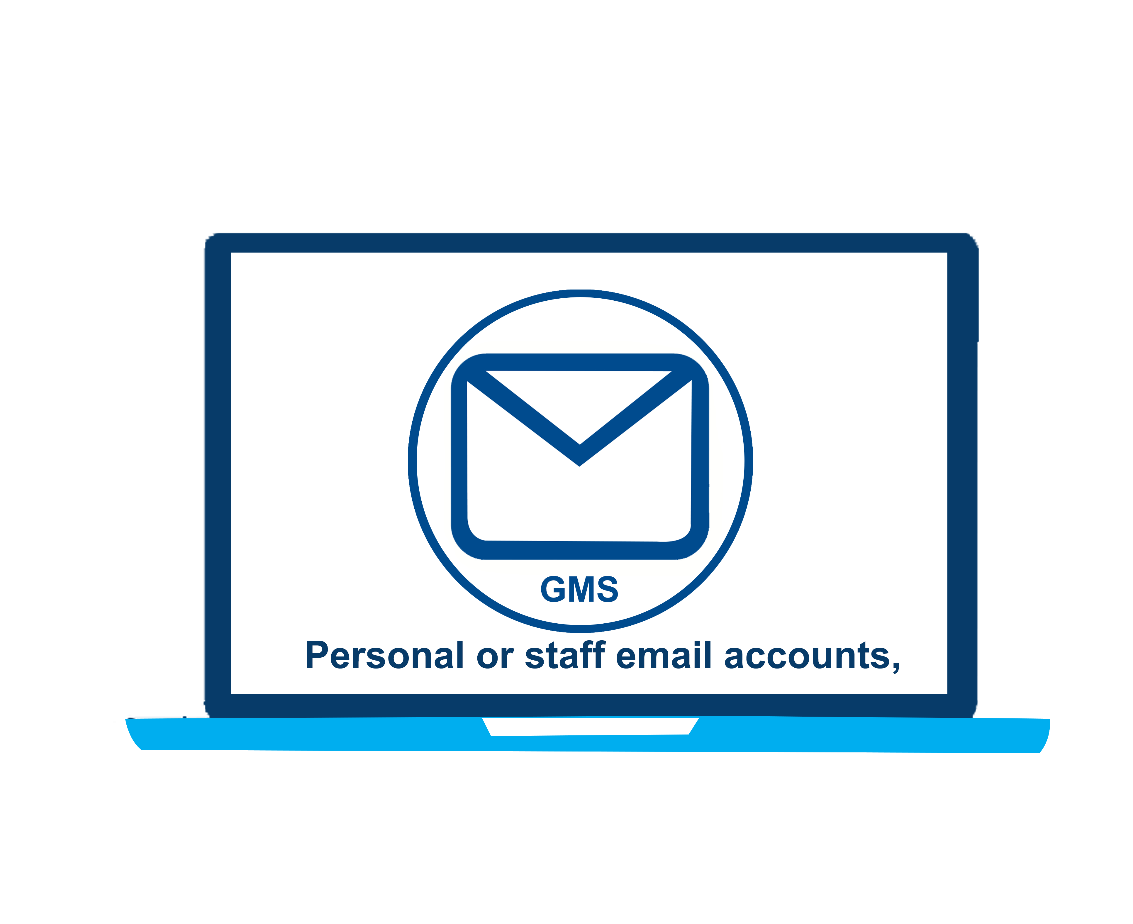 Personal or staff email accounts,