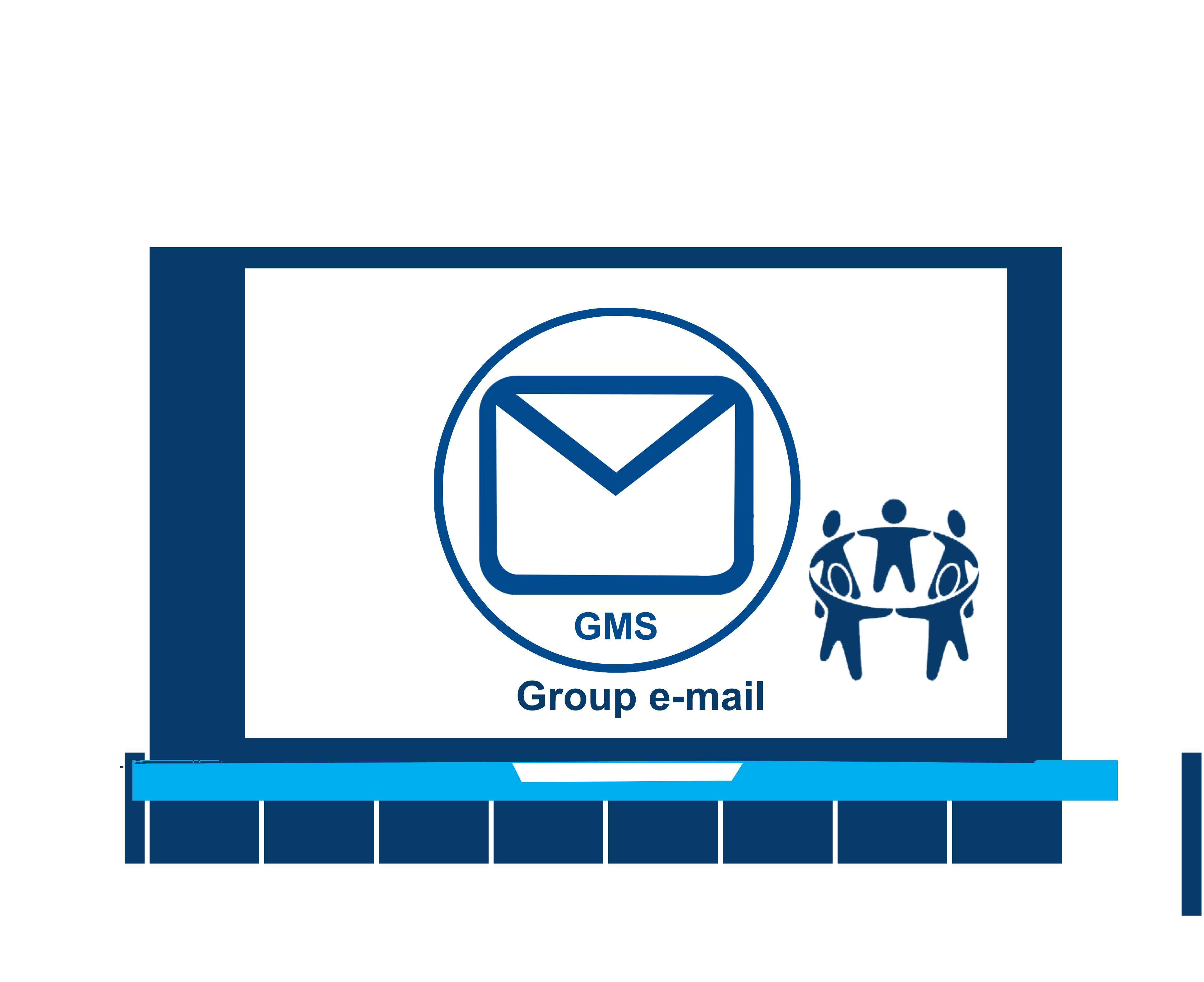 Group e-mail accounts,