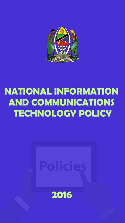 National ICT Policy, 2016
