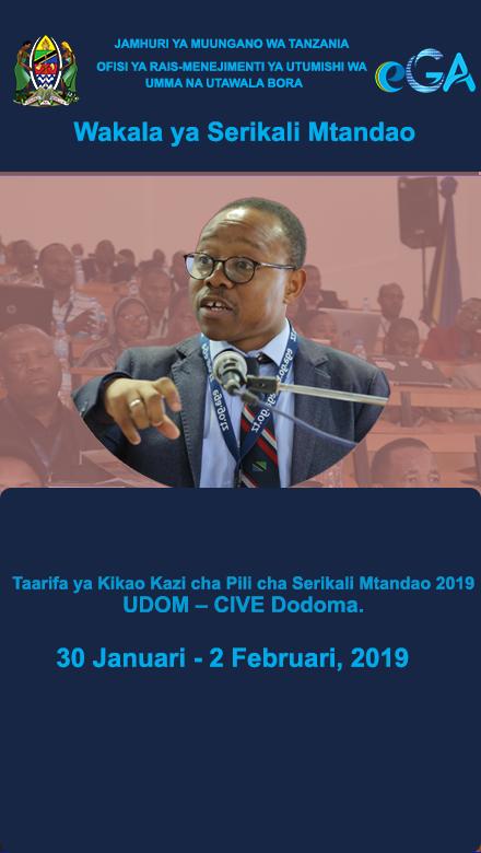 Taarifa ya Kikao Kazi cha Pili cha Serikali Mtandao 2019