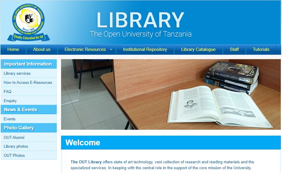 OUT e- Library