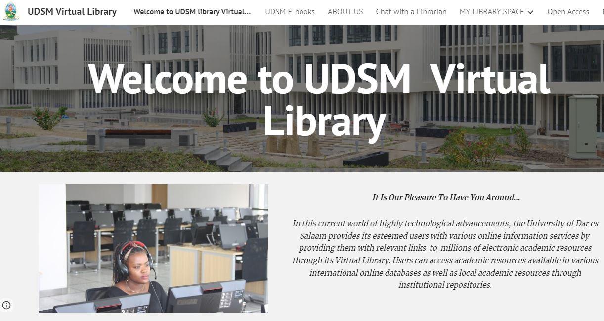 UDSM Virtual Library