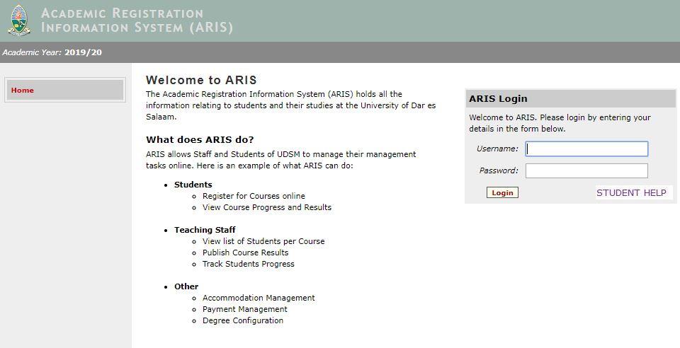 Academic Registration Information System
