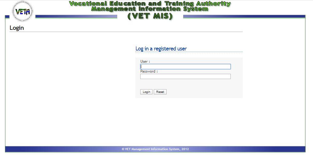 VETA Trainee Management System