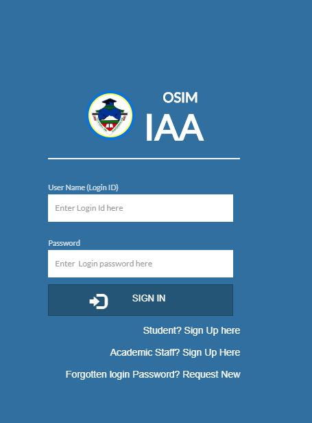 Institute of Accauntancy Arusha OSIM