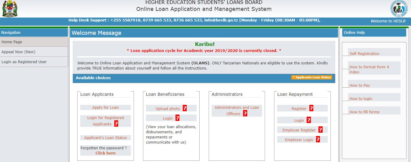 Online Loan Application and Management System