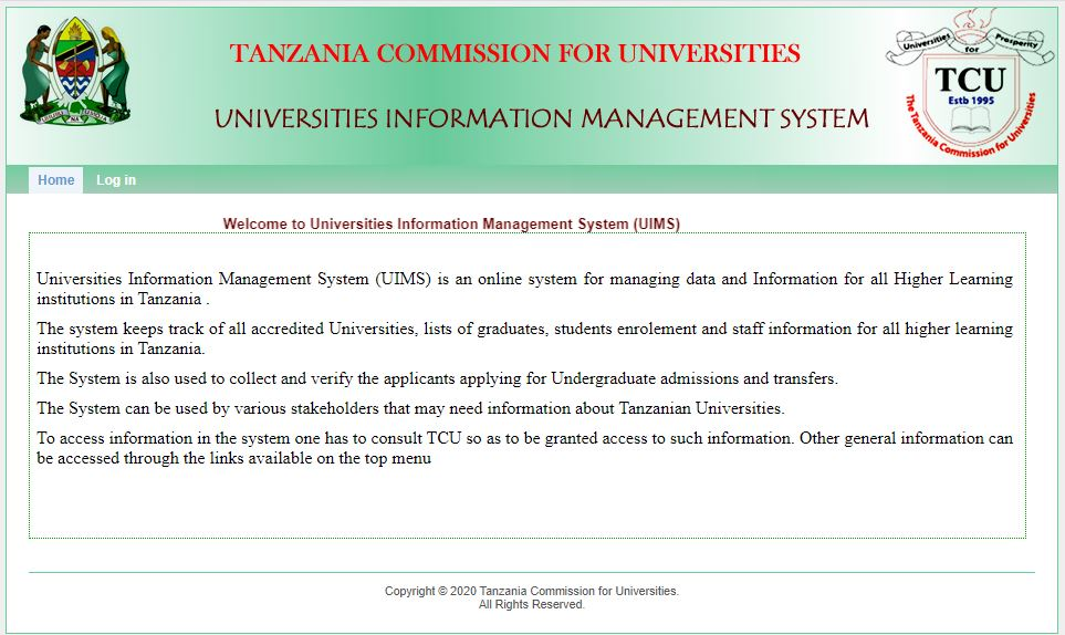 Universities Information Management System (UIMS)