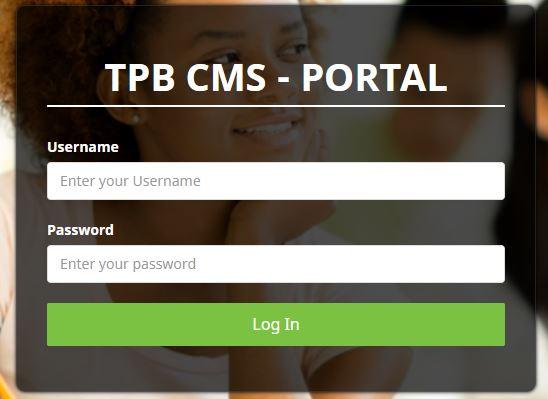 TPB Cash Collection Portal