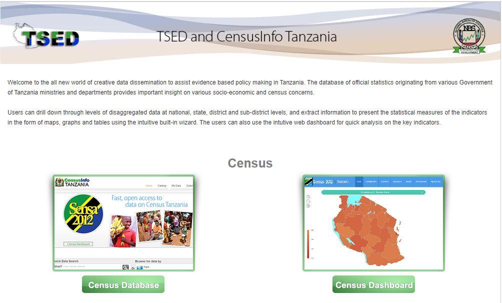 Tanzania Socio Economic Database