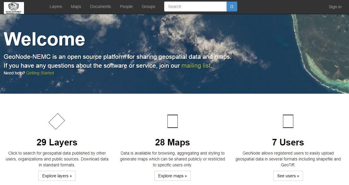 NEMC Online Map Server