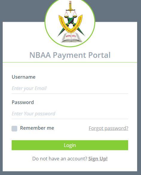 NBAA Payment Portal