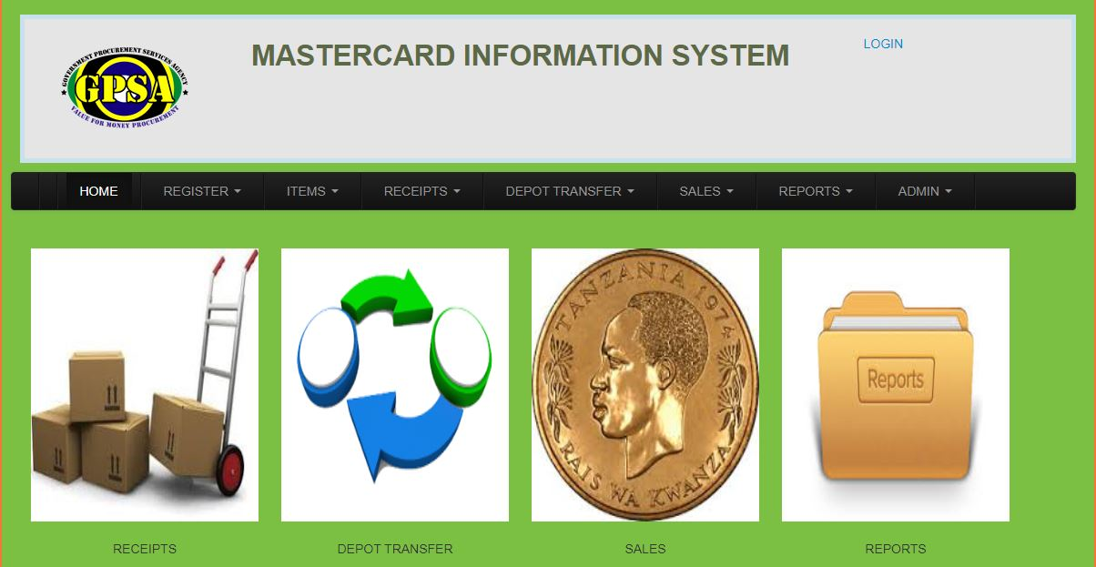 Mastercard Information system