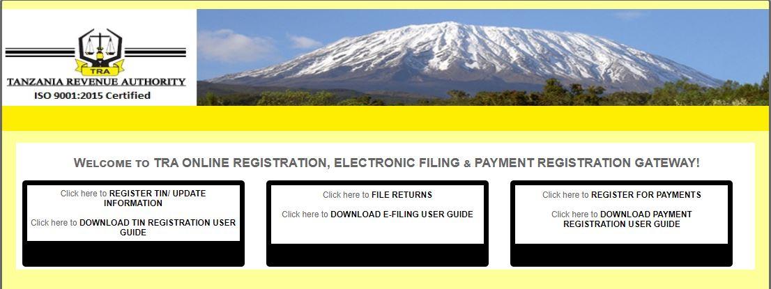 TRA Online Gateway
